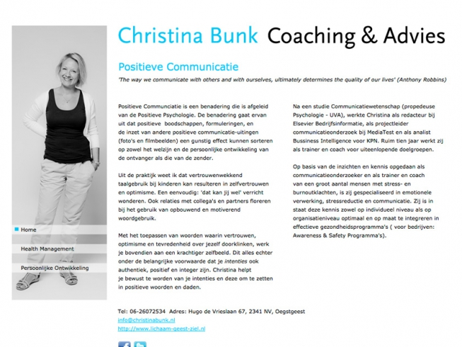 Christina Bunk Coaching & Advies